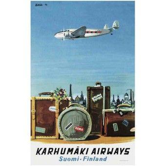 Karhumäki Airways / Poster30