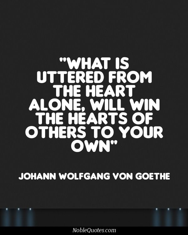Goethe Quotes About Love: Pin By Noble Quotes On Unheard Quotes