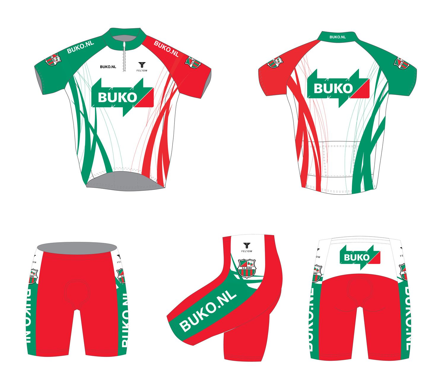 Design Cycling Jersey And Pants Adobe Illustrator