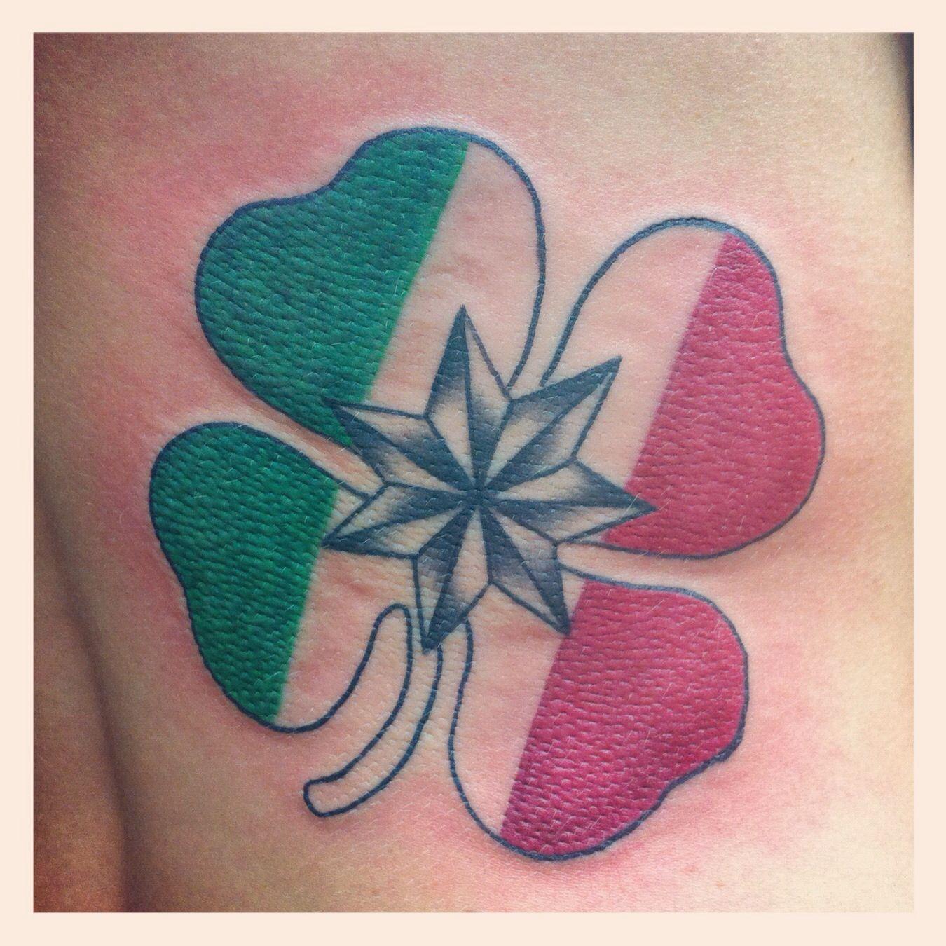 Italian Irish And Native American Family Symbol Tattoos I Have