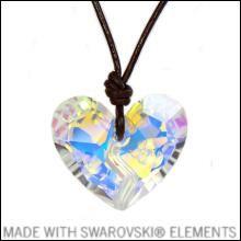 Halskette Forever 1 Heart - Rockyal® - MADE WITH SWAROVSKI® ELEMENTS - premium-kristall