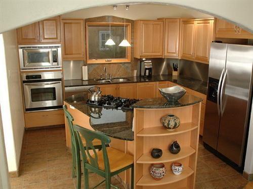 Soluci n para cocina peque a si se cuenta con una isla - Soluciones cocinas pequenas ...