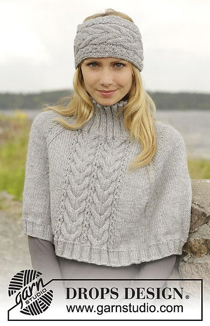 MADE TO ORDER! This is a beautiful poncho and head band for women ...