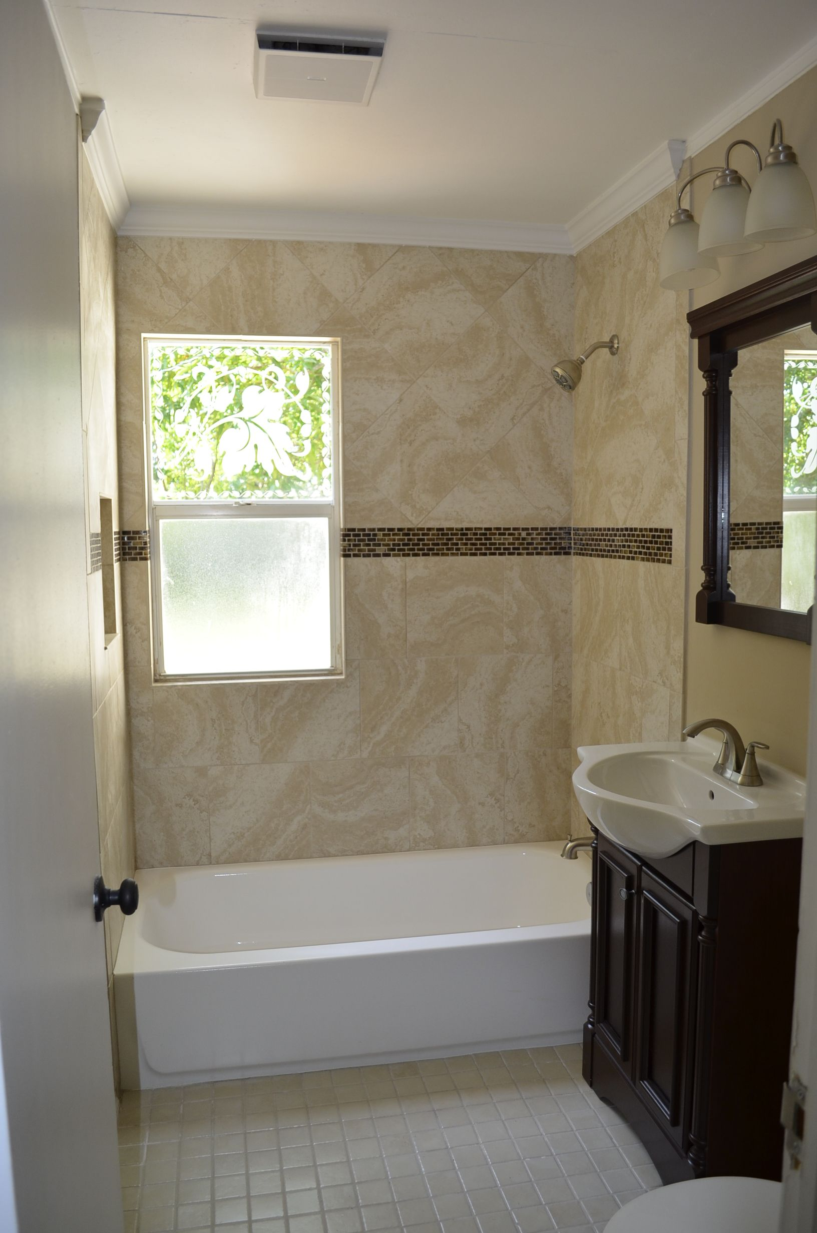 Historic Cottage Bathroom Remodel SFH In West Palm Beach - Historic bathroom remodel