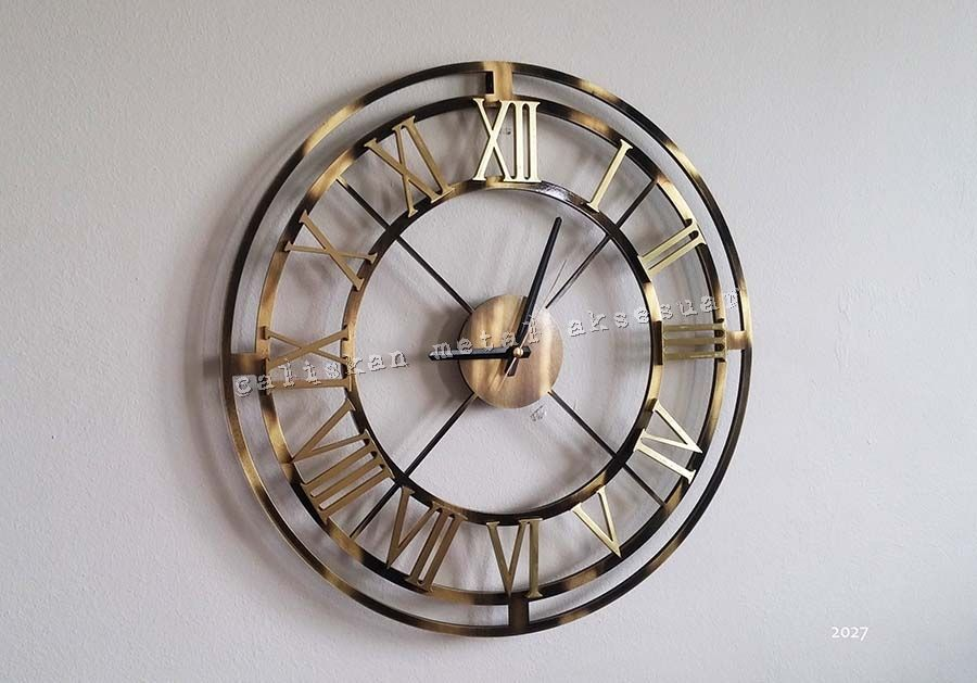 Saatler Caliskan Metal Aksesuar Duvar Saati Duvar Saatleri Saatler
