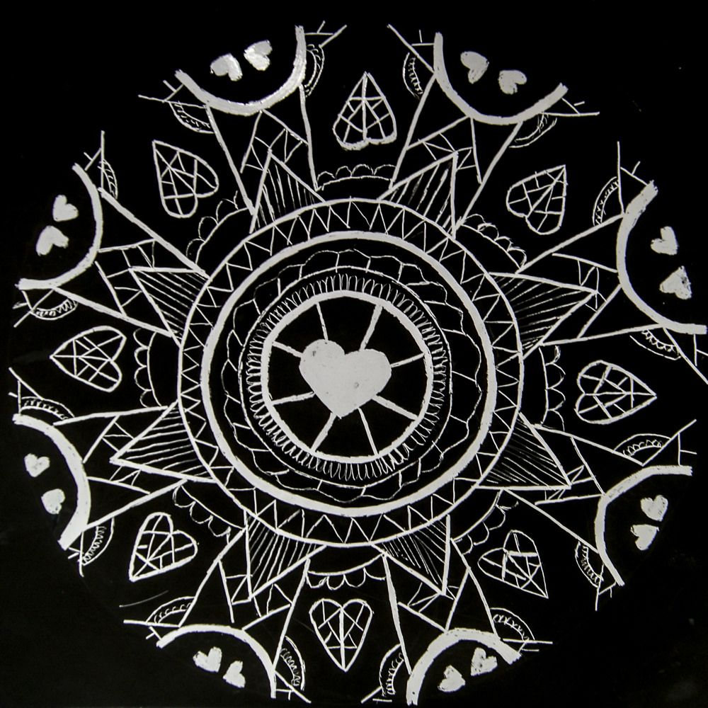 Scratchboard Mandala designs is part of Mandala design art, Mandala design, Radial design art, Scratchboard, Design art, Mandala - There are a variety of scratchboards that are available to use, from rainbow colored ones to glitter, metallic gold and silver, and the surfaces can vary from glossy to matte  I've experiment…