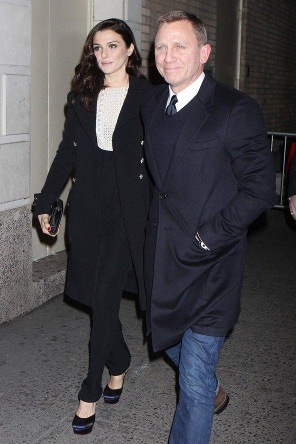 Rachel Weisz Chicissime Fashion Couple Daniel Craig Rachel Weisz Cute Celebrity Couples