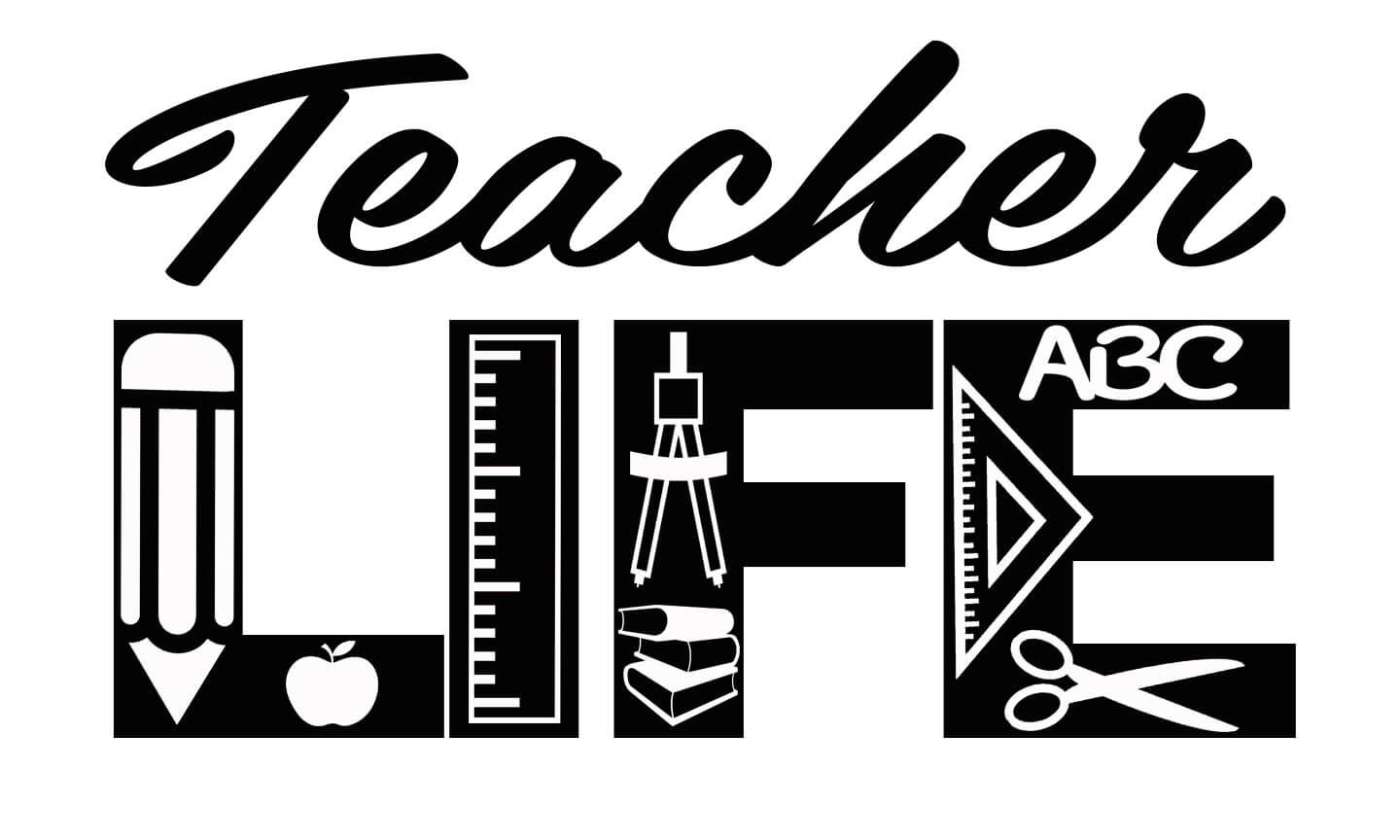 30+ Teachers Who Love Teaching – Svg, Dxf, Eps Cut File SVG
