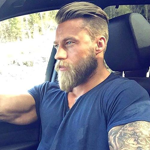 How To Style Your Hair For Men Vollbart Frisuren Haarschnitt