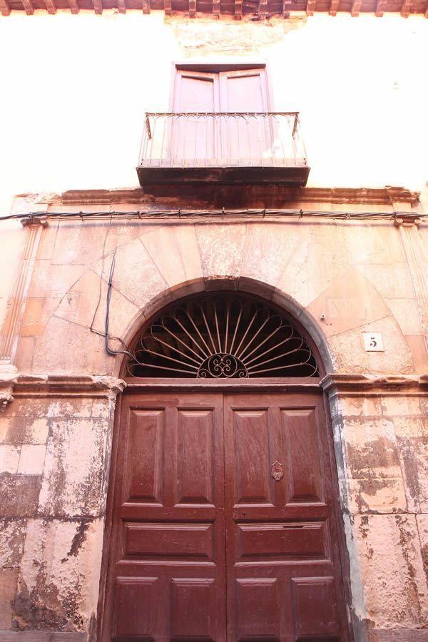 Casona de la calle Dámaso Merino, que hoy se encuentra en estudio para su restauración   Norberto