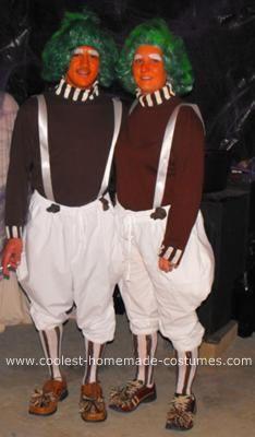 cool homemade oompa loompa halloween costumes - Oompa Loompa Halloween