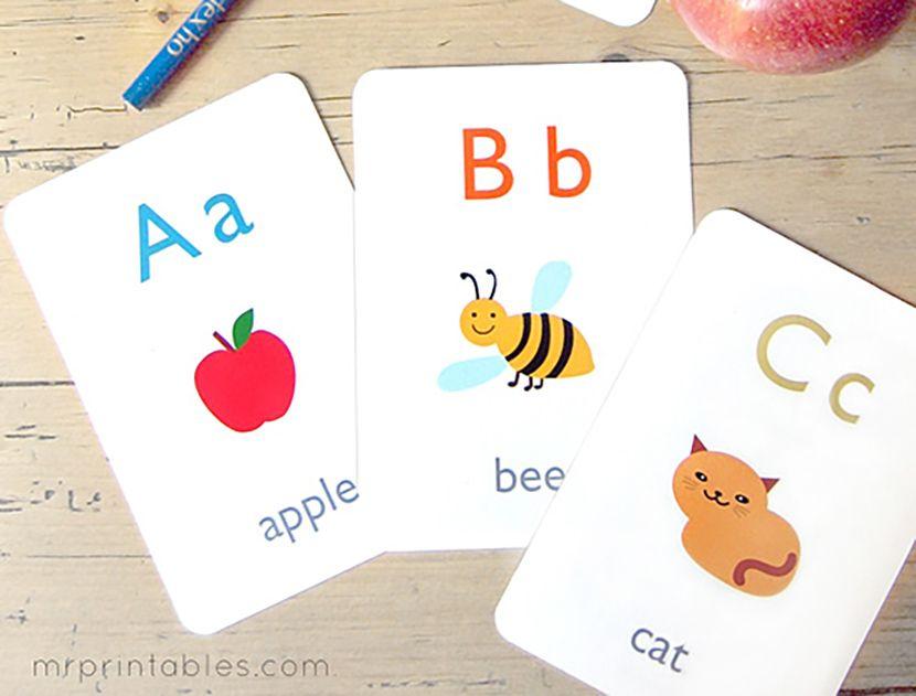 preschool flash cards app