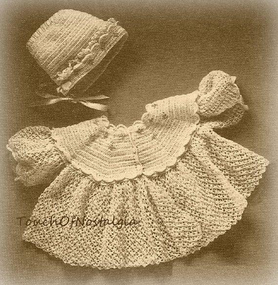 LACY Baby JACKET/Bonnet Crochet Pattern BUTTERFLY Kisses Baby ...