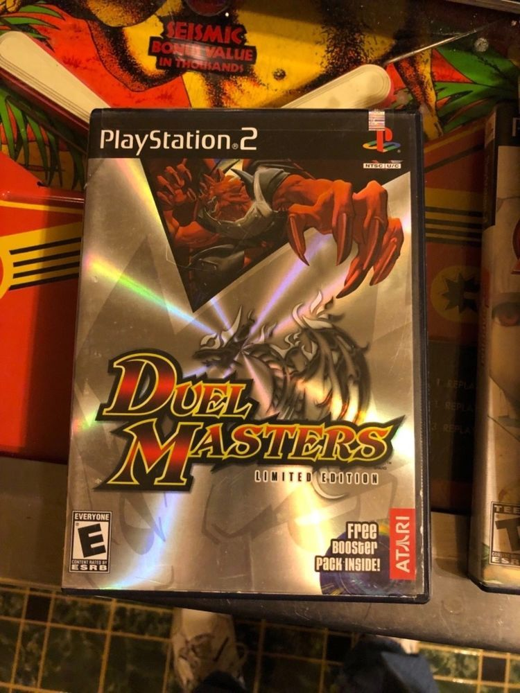 Duel Masters Playstation 2 Game Complete Ps2 With Manual Ps4