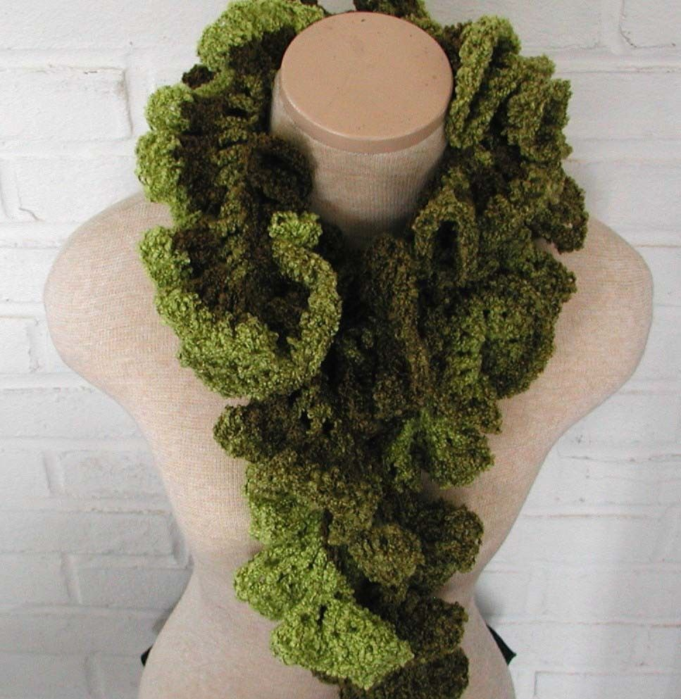 Free Crochet Scarf Pattern | This is your scarf on drugs (CRAZAY ...