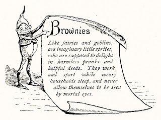 Vintage Brownie Bookplate & RecipesA Little Birdie Told Me