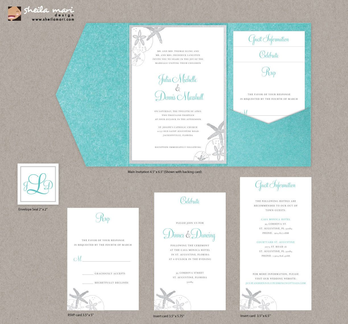 Diy Custom Wedding Invitation Suite Beach Sea Shells Design Etsy Wedding Invitations Diy Wedding Invitations Custom Wedding Invitations