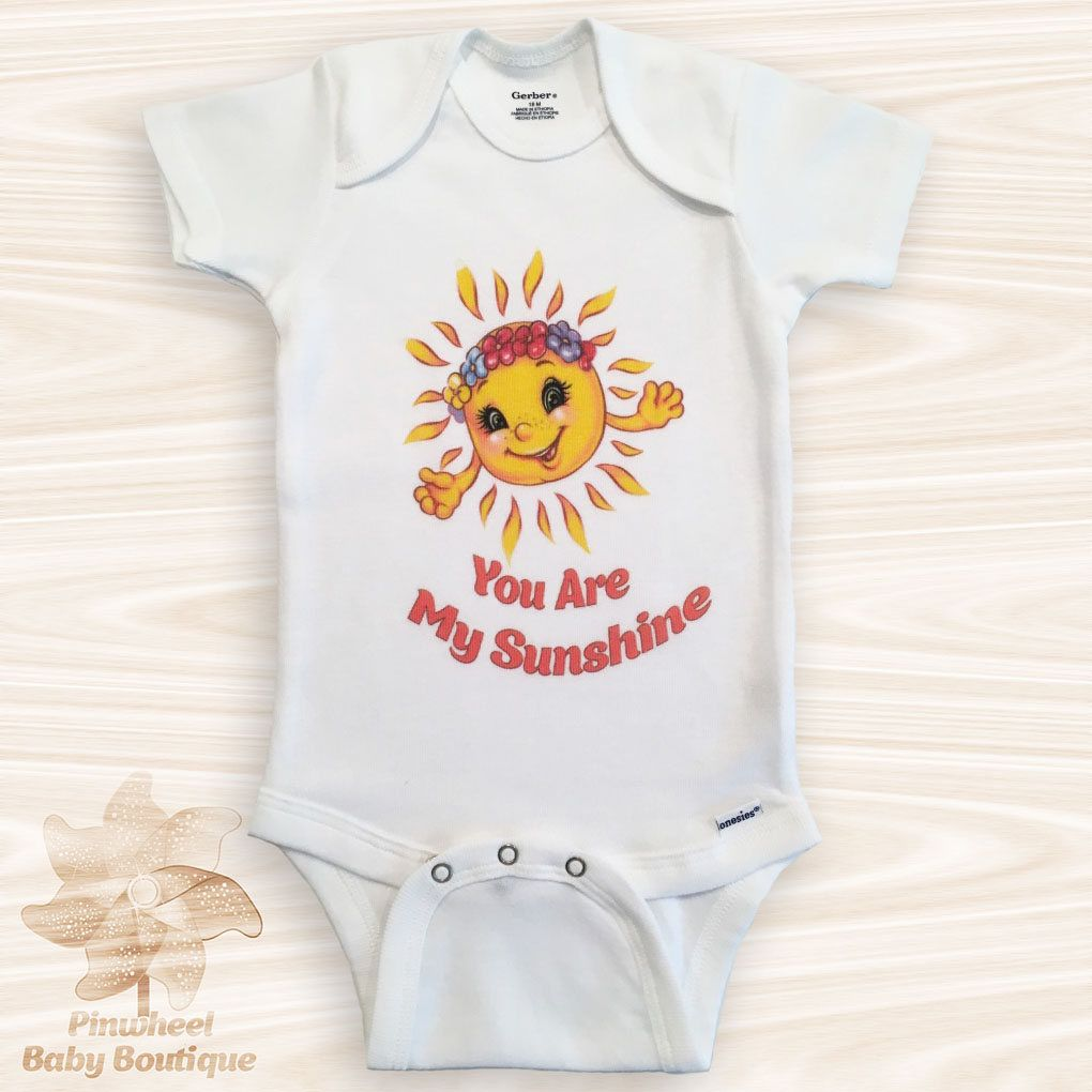 Baby Clothes Near Me Pleasing You Are My Sunshine Onesie® Sun Baby Clothes Sun Onesie Baby Shower Design Decoration