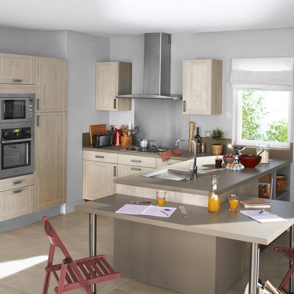 Modèle De Cuisine Ouverte cuisine lapeyre : nos modèles de cuisine préférés - elle