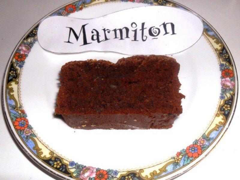 Gâteau au chocolat sans farine et sans beurre : Recette de ...