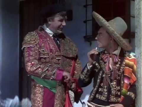 Andy Devine and Buster in La Fiesta de Santa Barbara  MGM short 1935