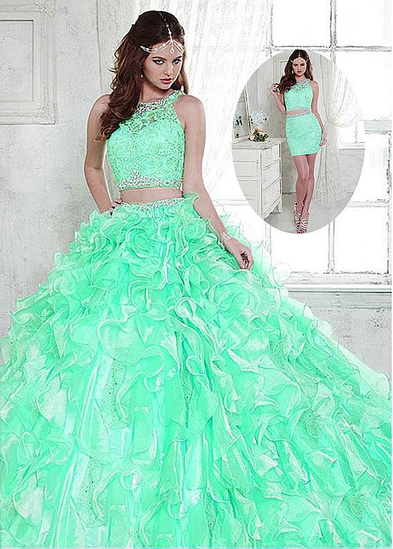 c5dcec3748e Cheap quinceanera dresses mint green