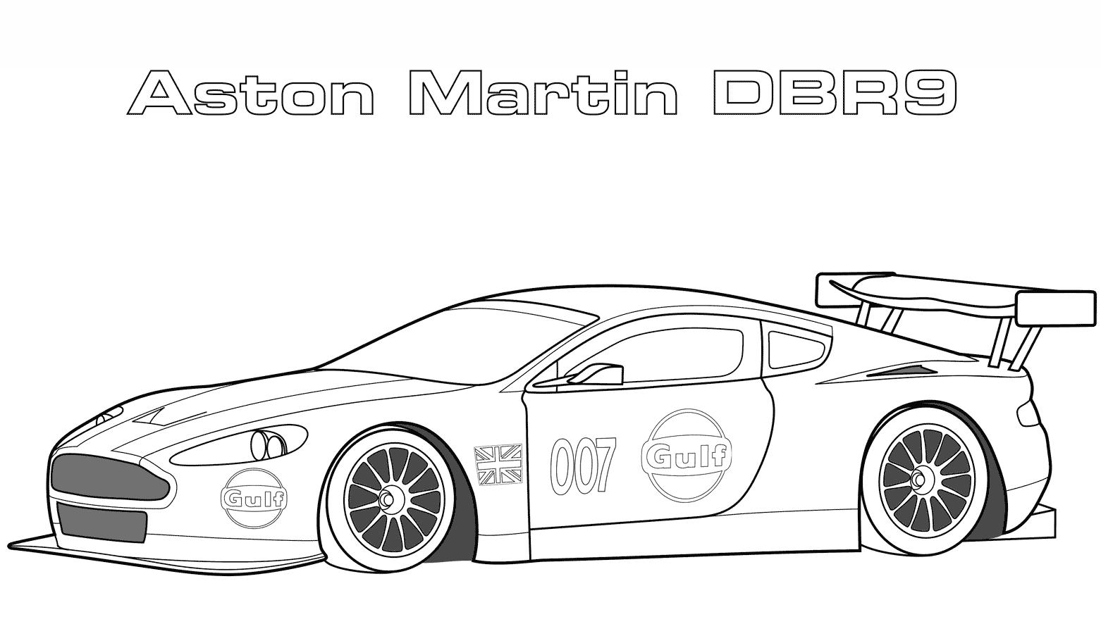 Rennauto Aston Martin Ausmalbild E1529873932137 Astonmartin Car Ausmalbilder Feuerwehr Rennwagen Rennen