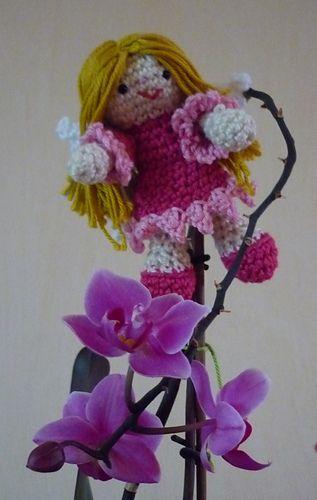 Little Fairy Doll  -  Free Amigurumi  Pattern - PDF Download  http://www.ravelry.com/patterns/library/fairy-crochet-pattern