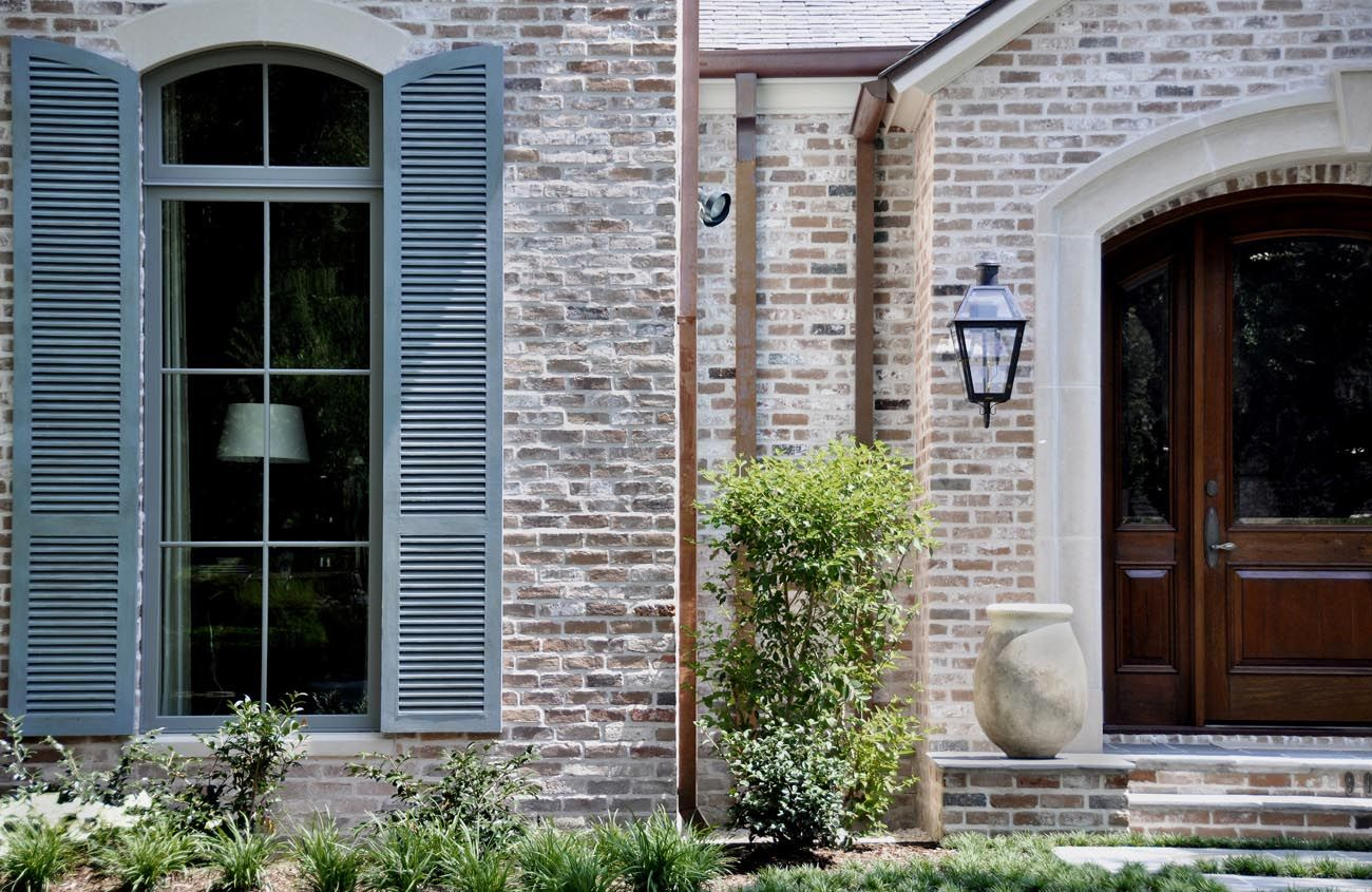 Door And Shutter Colors For Red Brick