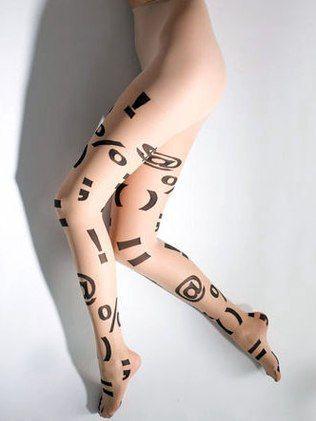 A meia-calça é o hit do outono!