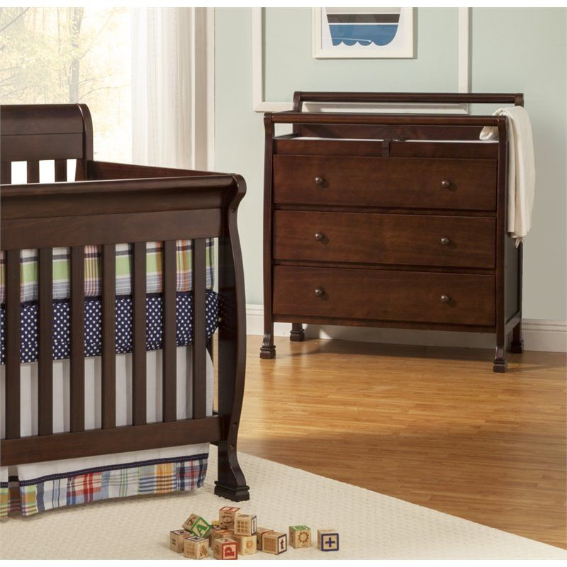 DaVinci Kalani Pine Wood Changing Table In Espresso. Goes With My Favorite  Crib.