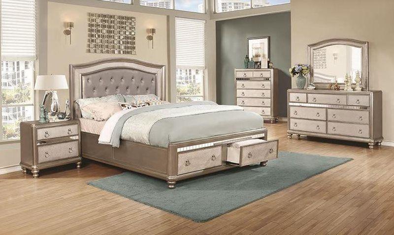 bling game bedroom set with storage bed  bedroom set