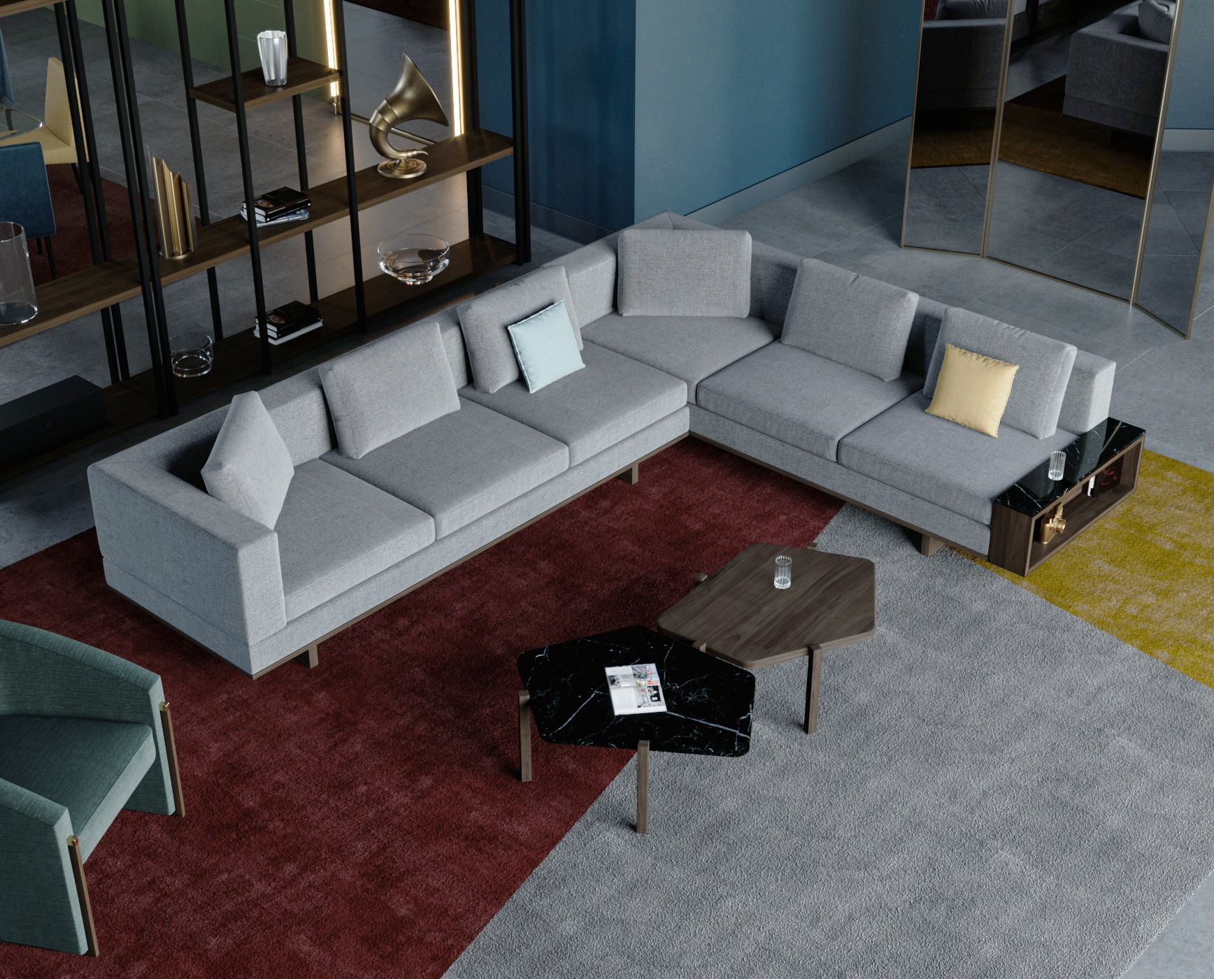 Our Ta Be L Shape Sofa Accompanied By Our Oc Ta Tables And Ar C Armchair Liveyourstyle Furniture Interiordesign Int Furniture Sofa Decor Furniture Design
