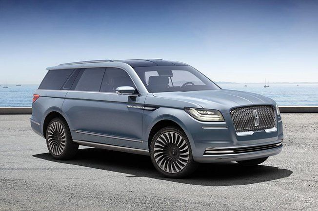Salon New York 2016 Lincoln Navigator Concept Cars And Pick Up