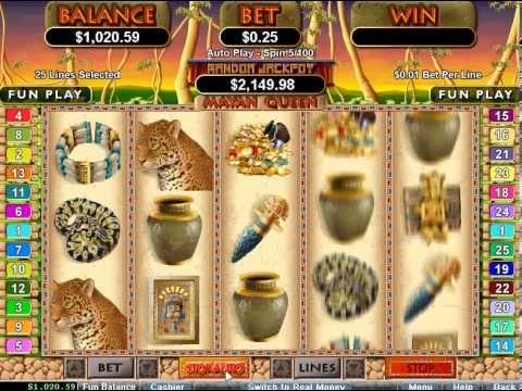 Free Slot Mayan Queen