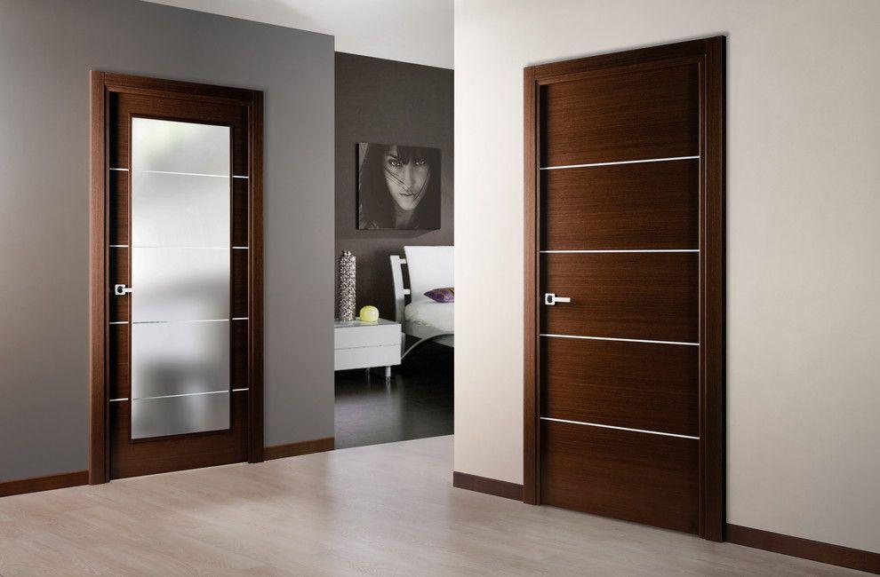 темные двери в интерьере квартиры 60 современных фото и