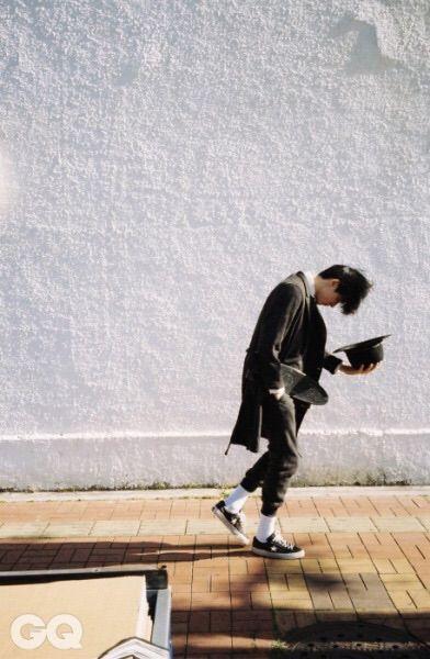 Goodbye Yesterday : 계절의 처음과 마지막 pt.1   GQ Korea   December 2014   model Kim Wonjoong (김원중)   photographer JDZ Chung