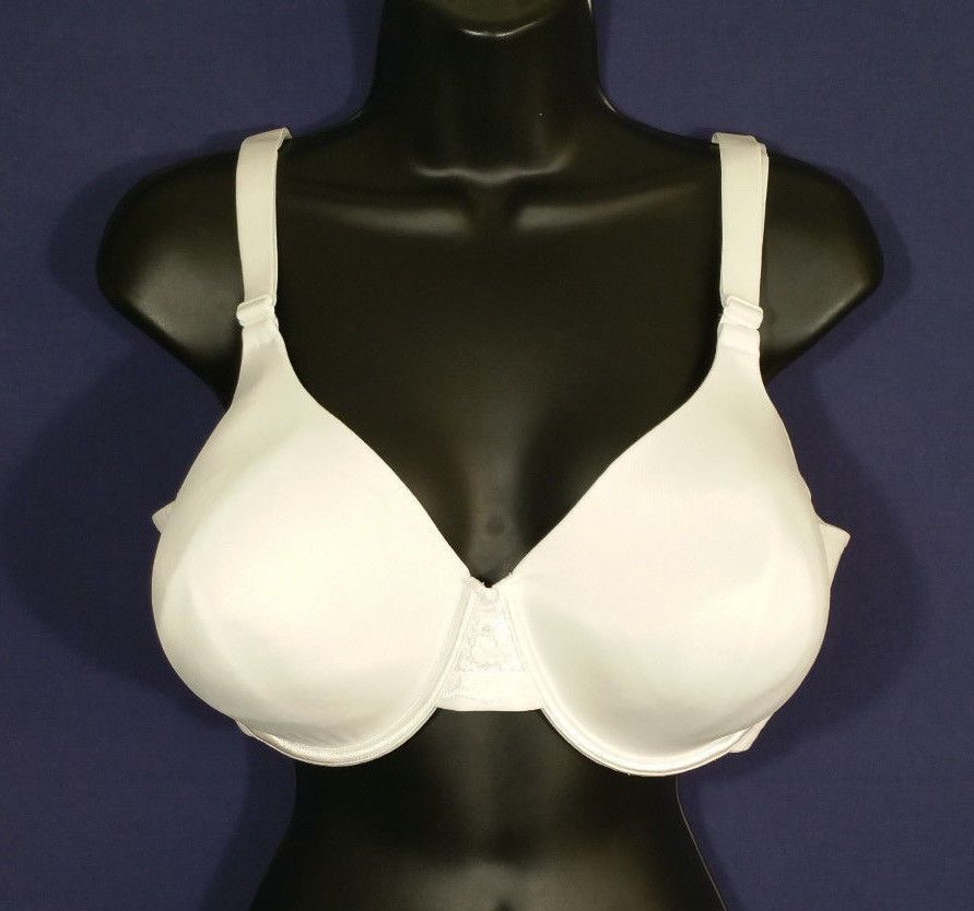 4431c0756 Curvation Women Underwire Bra Full Figure Perfect Back 5304528 White Size  44D  Curvation  FullCoverageBras