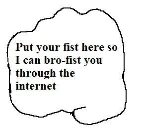 Place fist here bro you have
