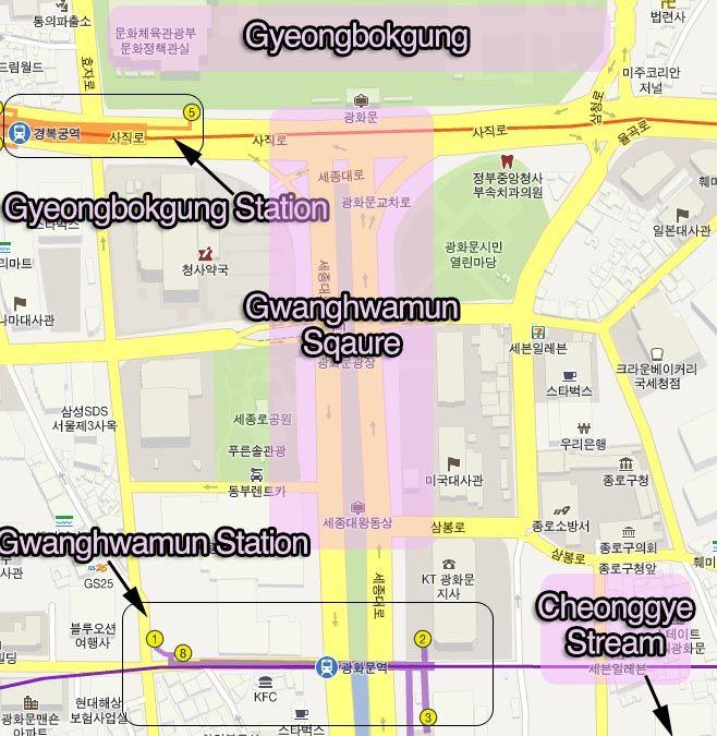 how to get to gwanghwamun south Korea Pinterest Seoul Korea