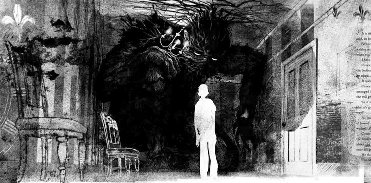 Jim Kay - From - A Monster Calls