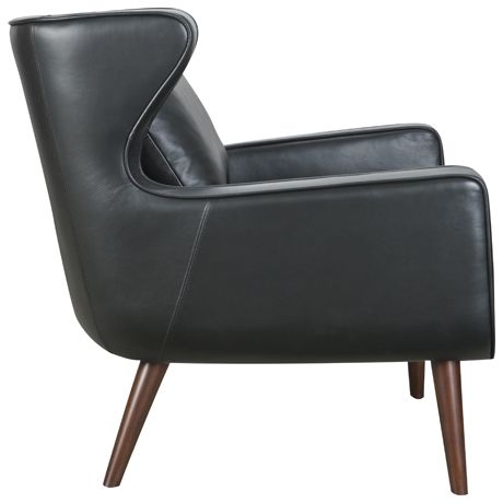 Chair Gallery:: Danish Wing Chair Essential Black