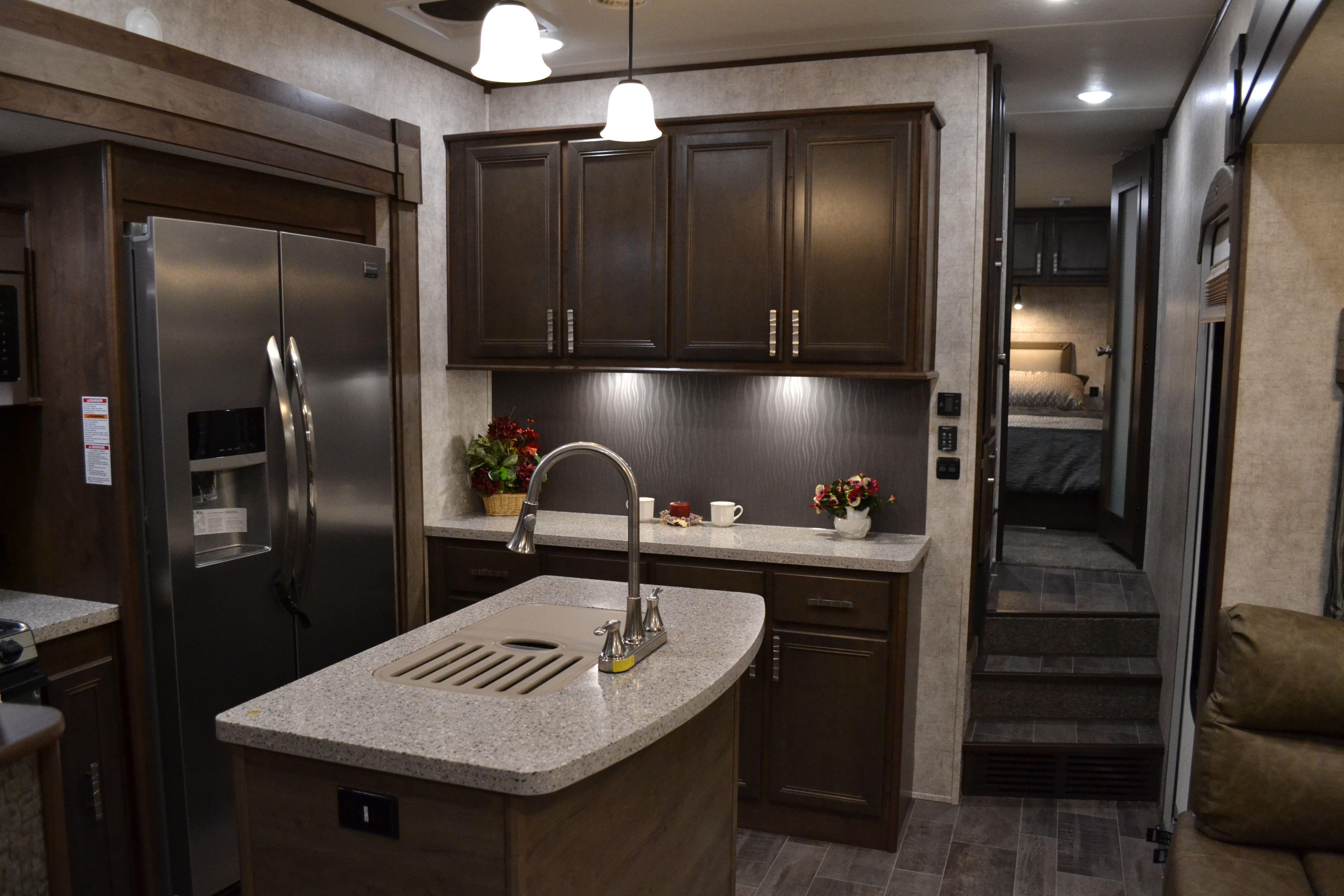fifth wheel campers with bunkhouse and outdoor kitchen appliance ratings 2017 open range roamer 374bhs 5th