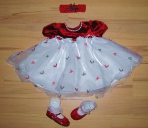 First Christmas Baby Clothes | baby things to make | Pinterest ...