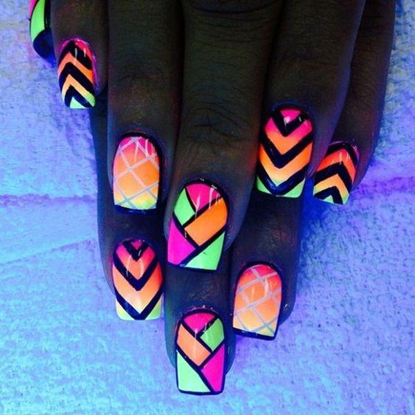 56 Vivid Summer Nail Art Designs and Colors 2017 | Summer nail art ...