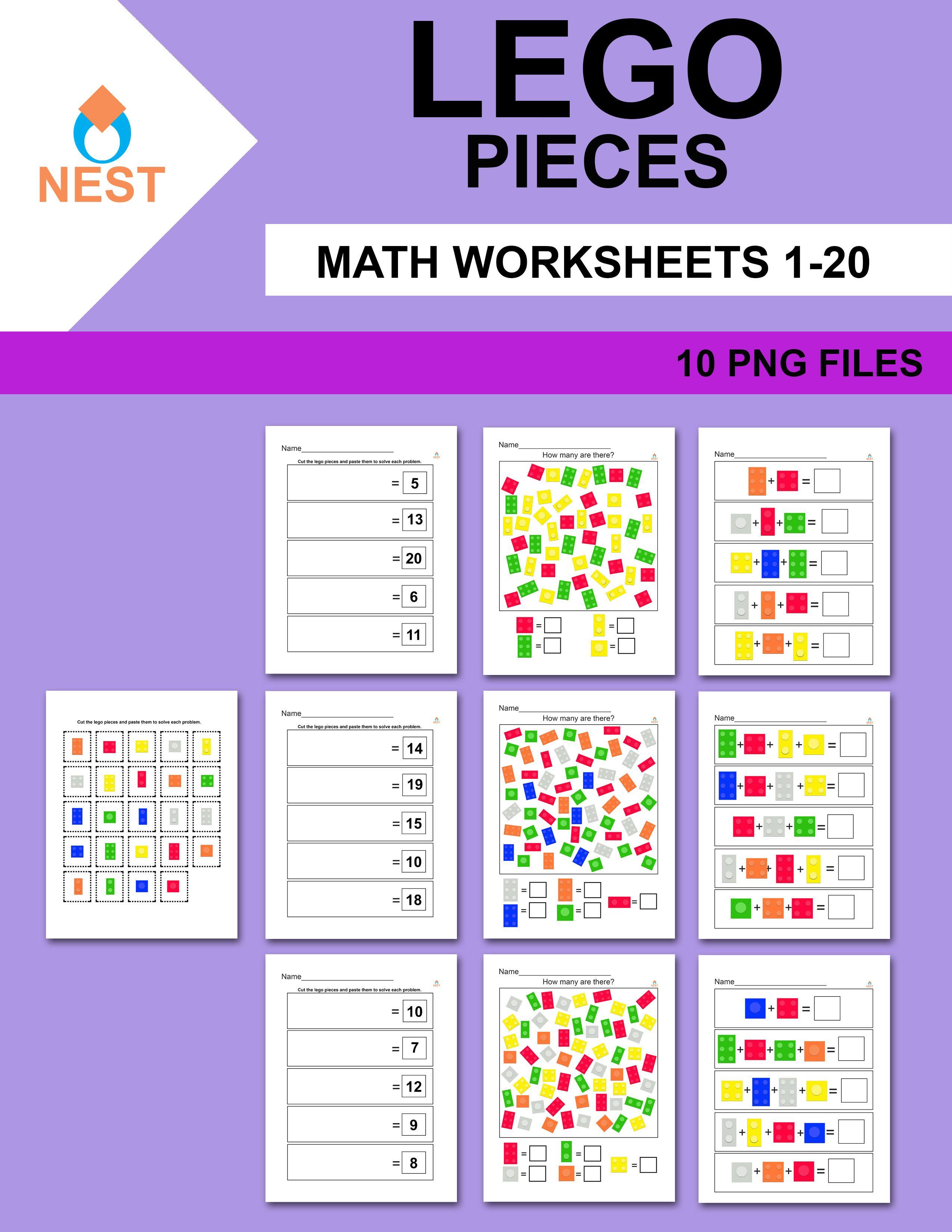 Lego Math Worksheets Math Math Worksheets Lego Math [ 3300 x 2550 Pixel ]