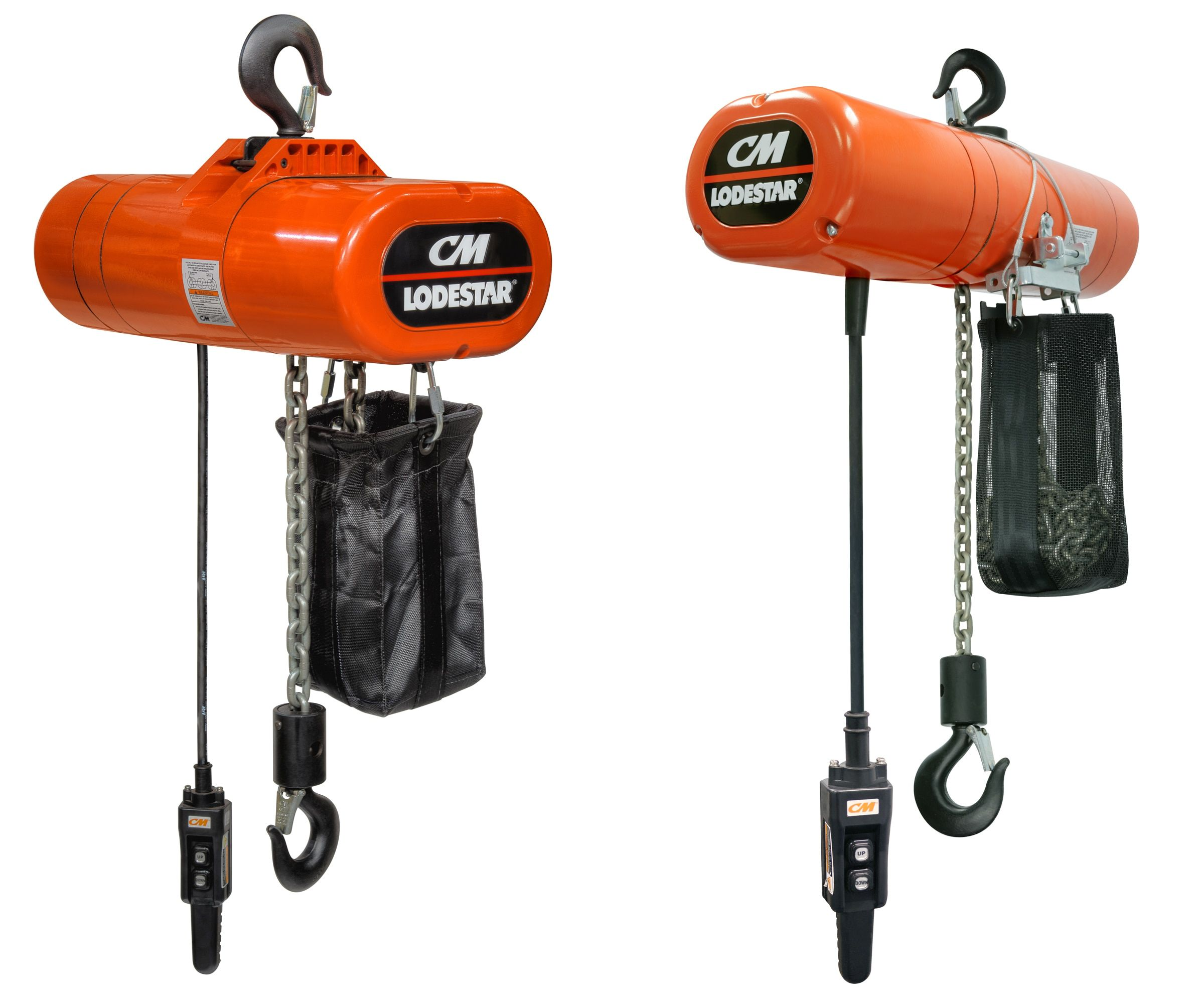 Shop the newest line of CM hoists at