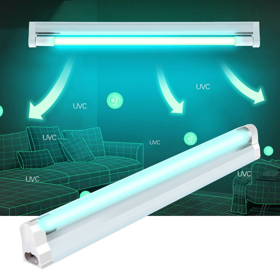 9 99 Uvc Disinfection Light Tube Uv Lamp Germicidal Ozone Ultraviolet Sterilizer Bulb In 2020 Uv Light Bulbs Cool Gadgets To Buy Glass Bulbs