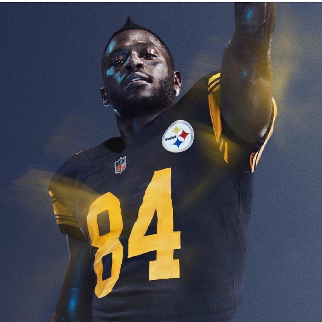 half off 33b54 d2726 Love the Color Rush uniforms! | Steelers Football, Baby ...