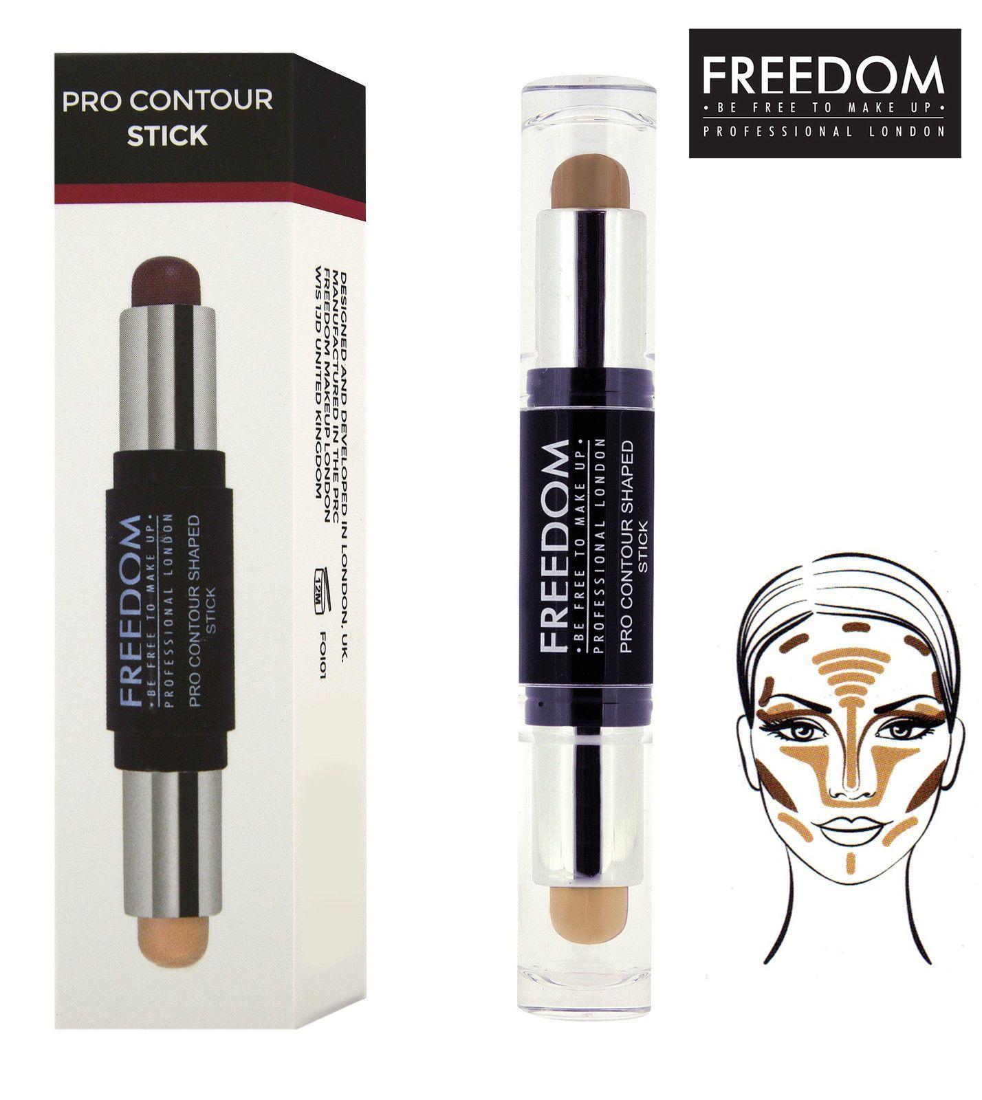 Freedom Makeup Pro Cream Contour Shaped Stick Medium